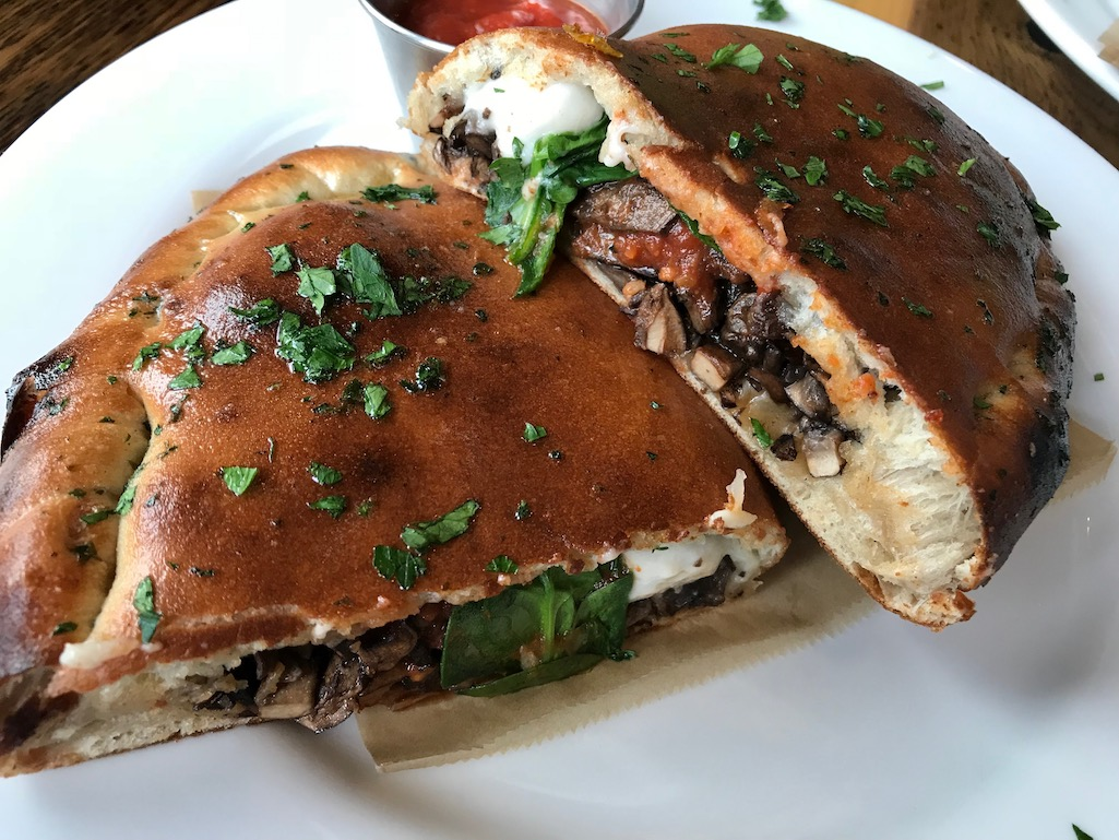 Vegan Calzone at Pulse Hampshire County 8 Reasons You Need To Know About Hampshire County