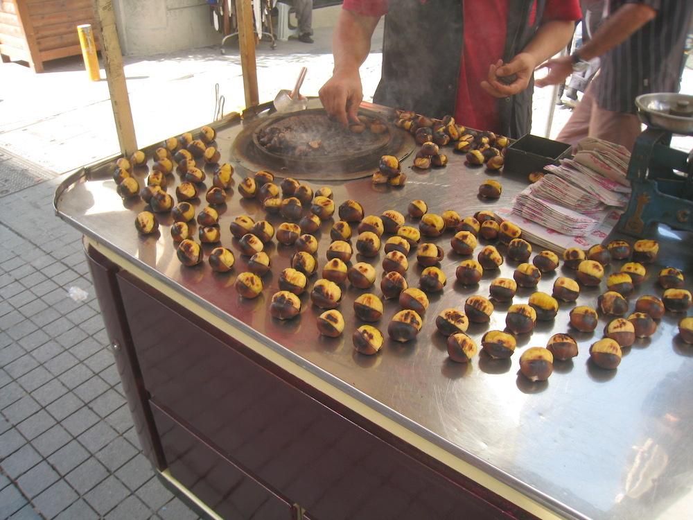 Chestnuts in Istanbul, Turkey
