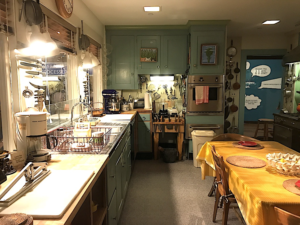 Julia Childs Kitchen Smithsonian Institute National Museum of American History Washington DC