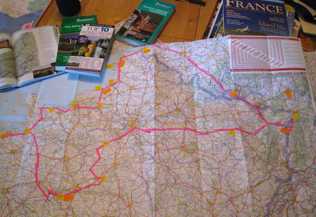 Travel-Planning-Map-Food-Travelist