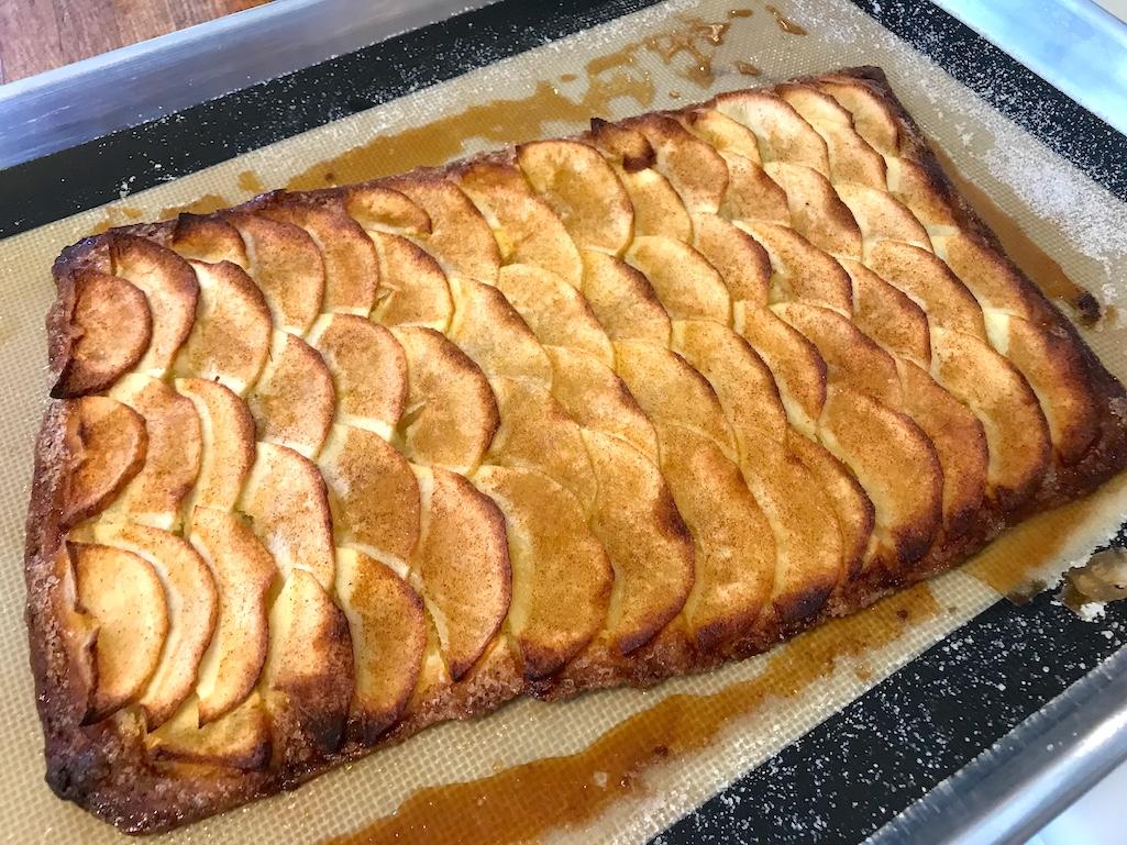 Tarte Fine Aux Pommes Dessert at Good Stock Farm