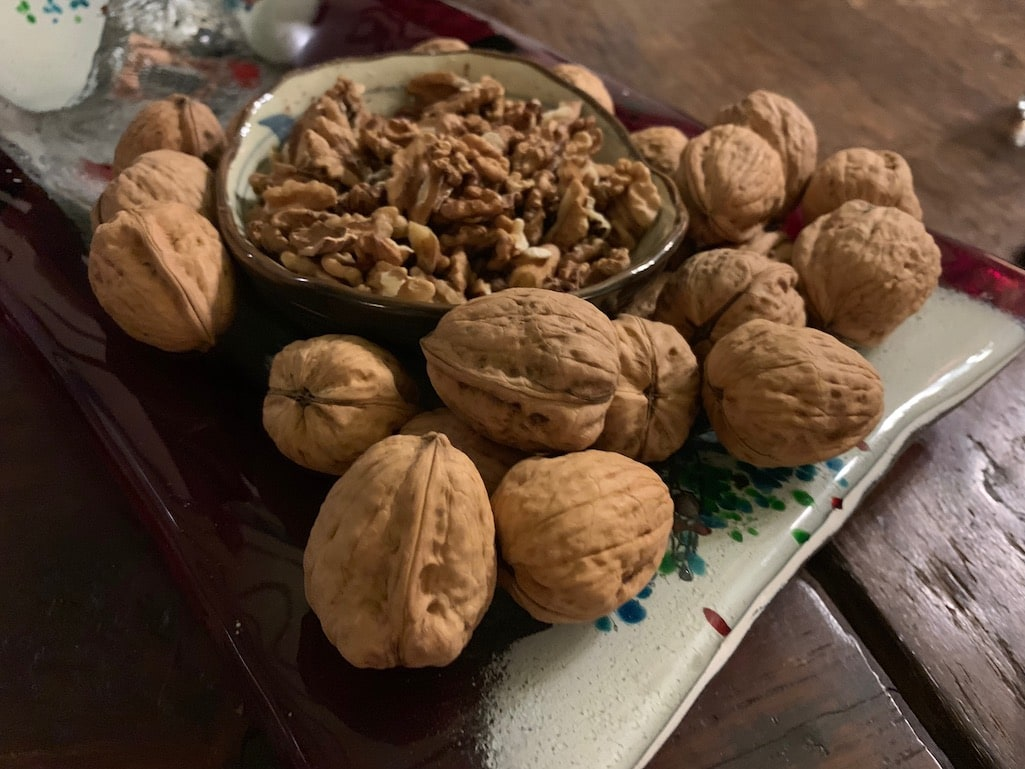 Arcadian Walnuts in Piana Greece