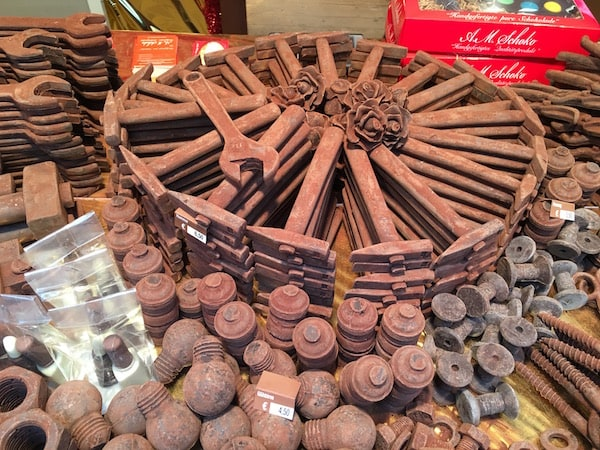 Chocolate at the Tubingen Choco'ART Christmas Market