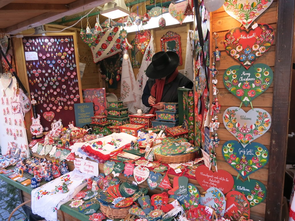 Hand Crafts at the Rudesheim Christmas Markets