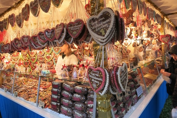 Nuremberg Hearts at the Christmas Markets