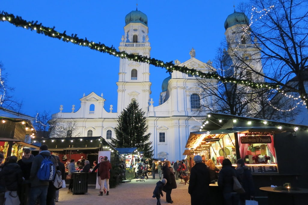 Passau Germany Christmas Markets