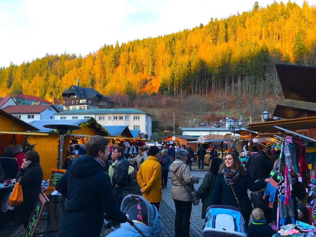 St. Blasien Christmas Market Germany Food Travelist
