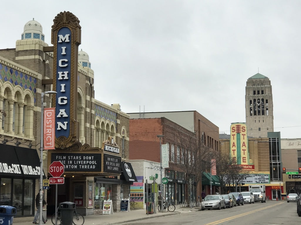 Ann Arbor Downtown destinations