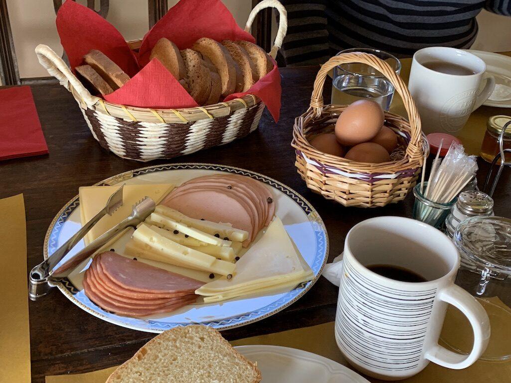 Breakfast in Piana Greece