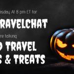 #FoodTravelChat 10/31/18 Food Travel Tricks & Treats