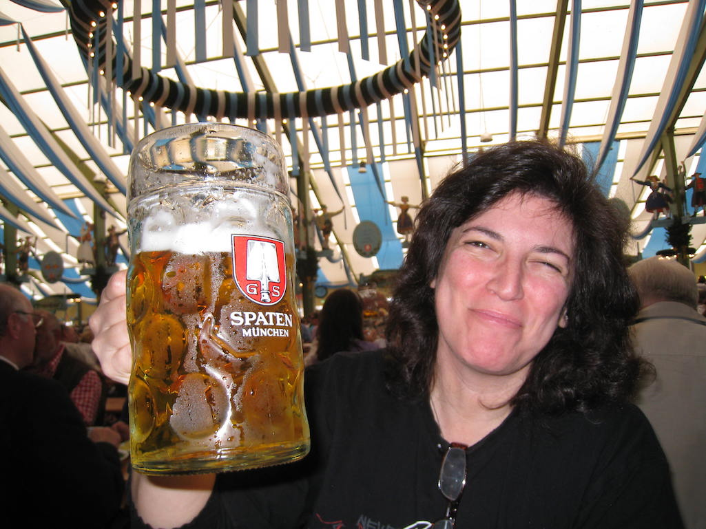 Prost Diana Laskaris At Oktoberfest Munich