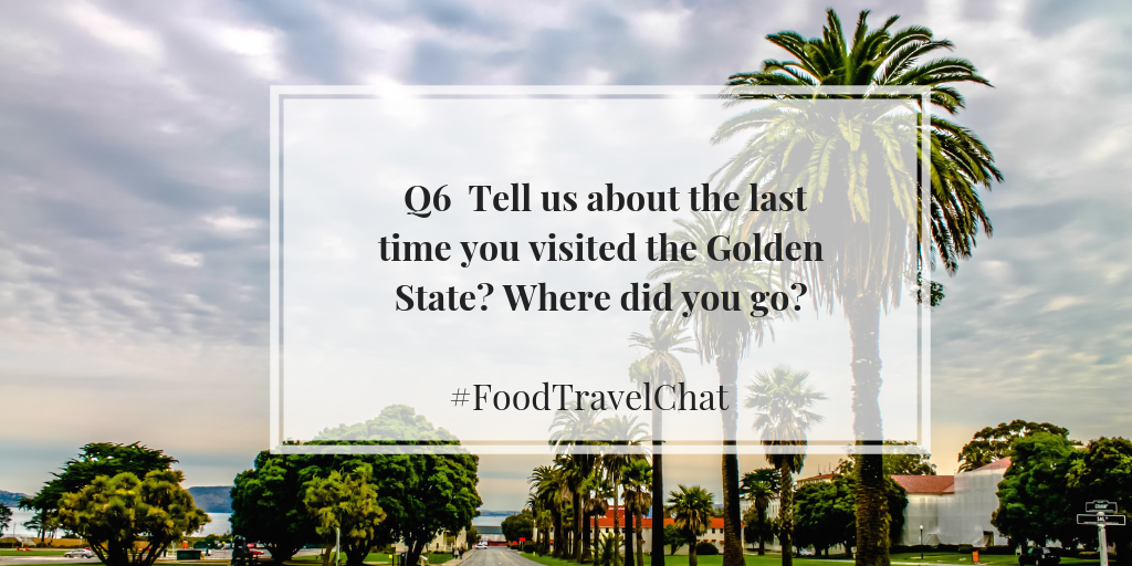 #FoodTravelChat Question