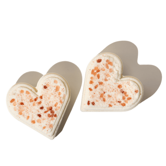 Double Heart Bath Bomb Valentine's Gift Guide Valentines Day Gift Guide