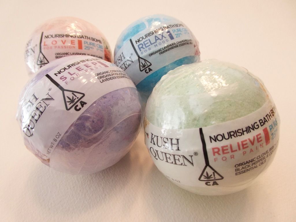 Kush Queen CBD Bath Bombs Valentines Day Gift Guide