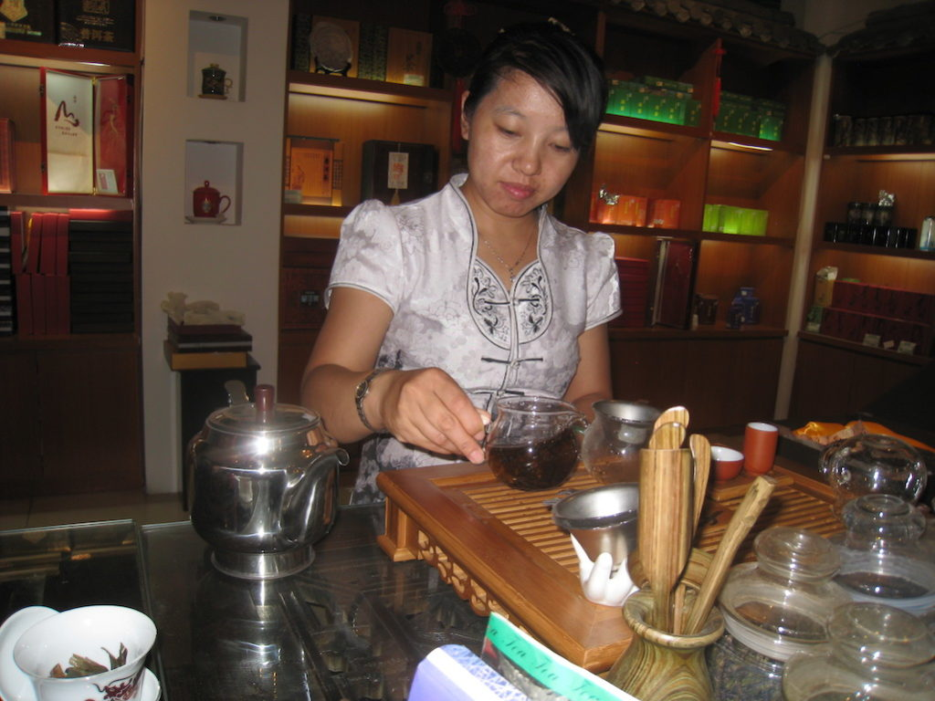 The Language of Tea in Beijing