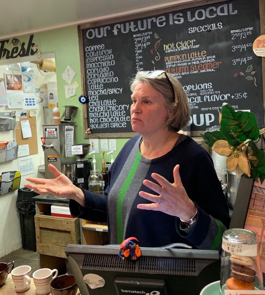 Argus Farm Stop Ann Arbor Food Owner-operator Kathy Sample