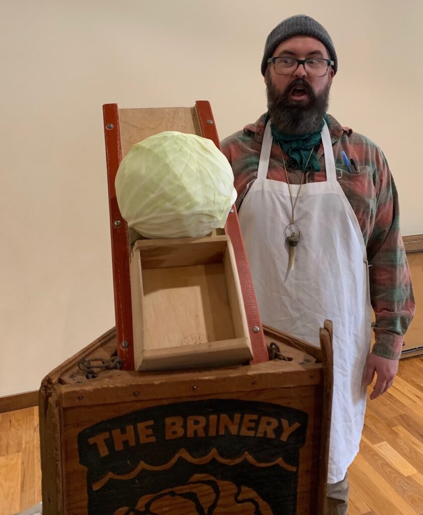 David Klingenberger Co-Owner of The Brinery Ann Arbor Michigan