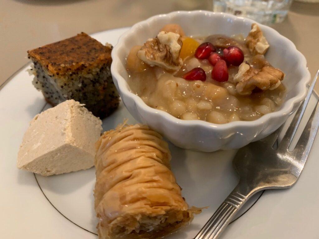 Dessert At Ayse's Turkish Cafe Ann Arbor Food