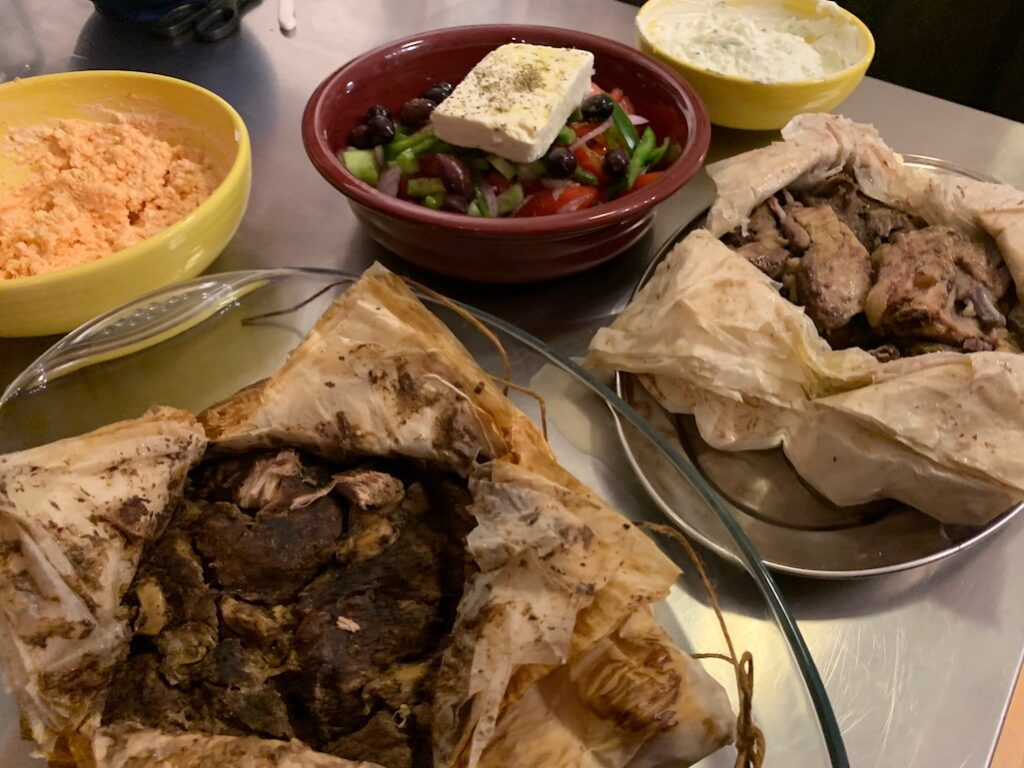 Greek Dinner in Athens