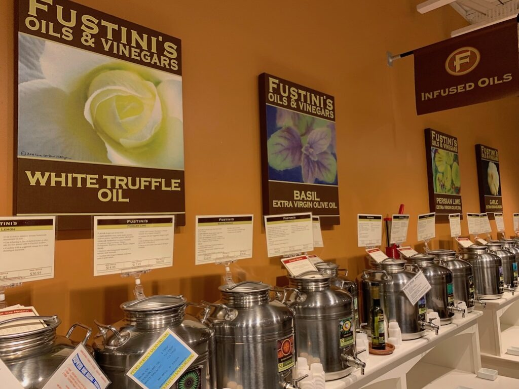 Fustini's Oils and Vinegars in Ann Arbor Michigan
