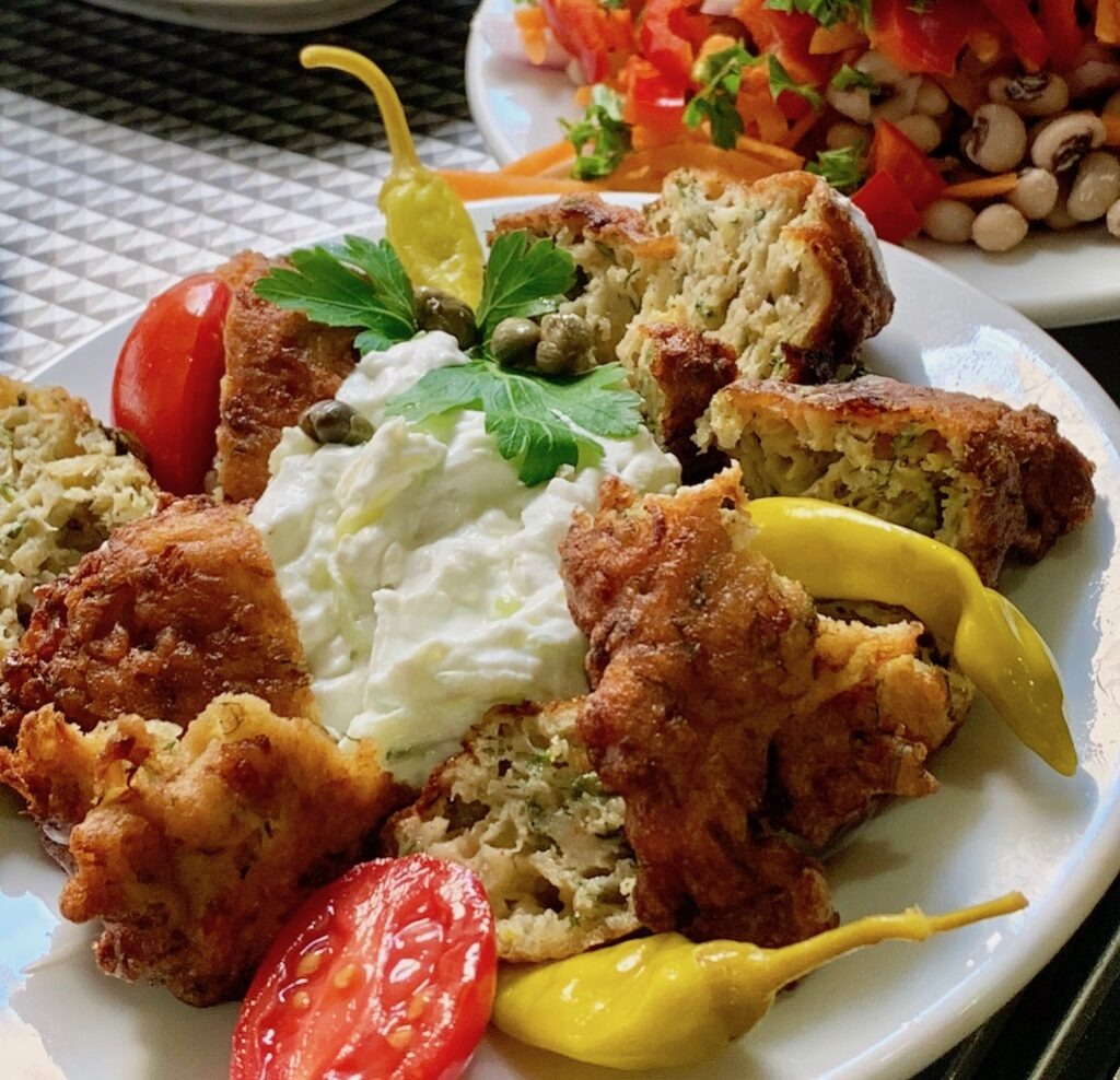 Greek Meze Food in Greece
