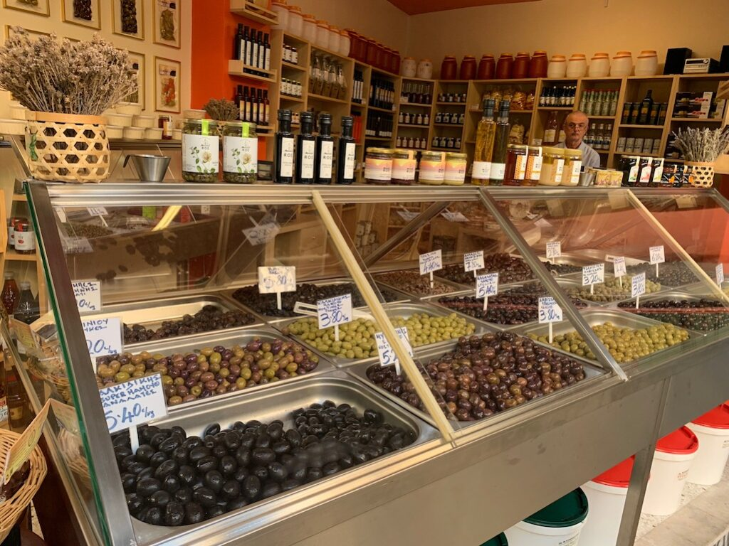 Olives and Oils in Greece