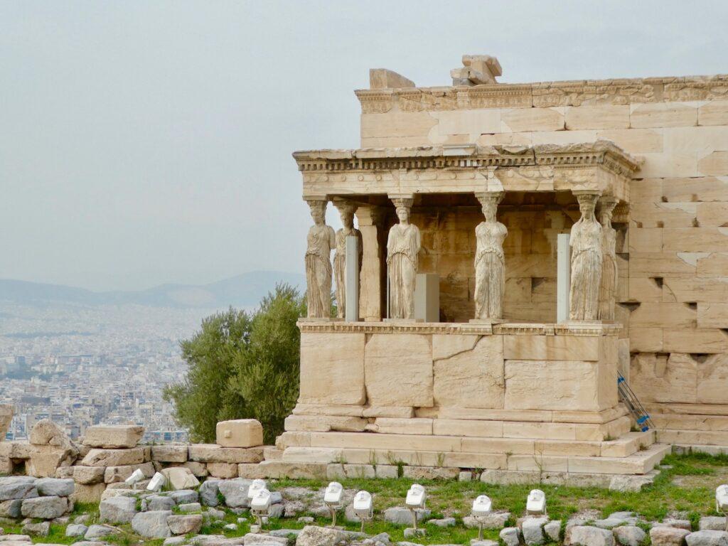 Porch of the Maidens Acropolis Athens Greece