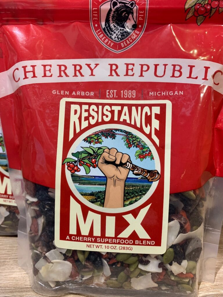 Resistance Mix from the Cherry Republic Ann Arbor
