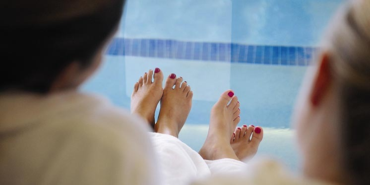 Many luxurious spa services at the Grand Geneva
