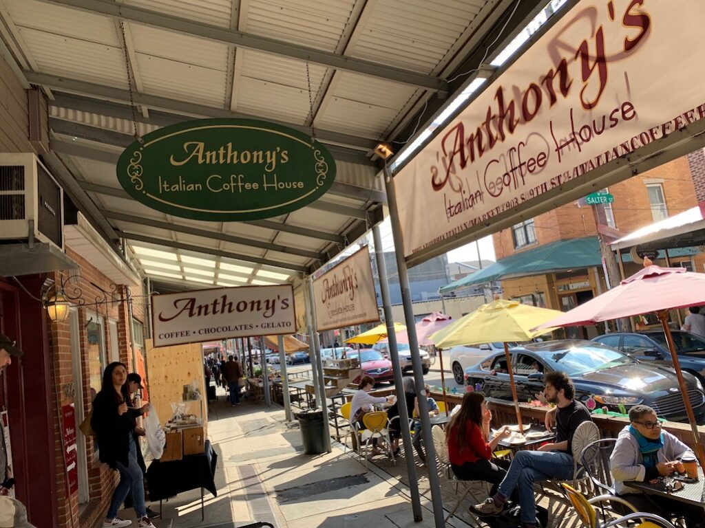 Philly Food Anthony's Italian Coffee House