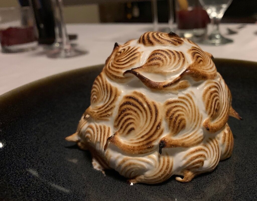 Baked Alaska at the Grand Geneva
