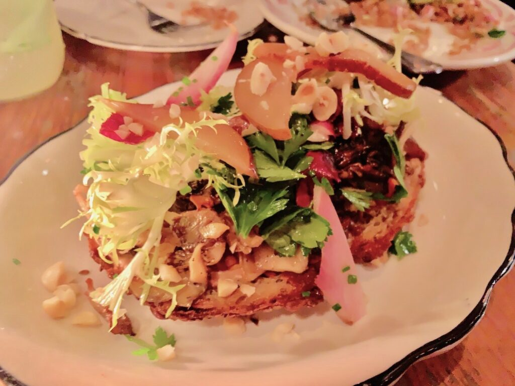 Barbuzzo Mushroom Crostone