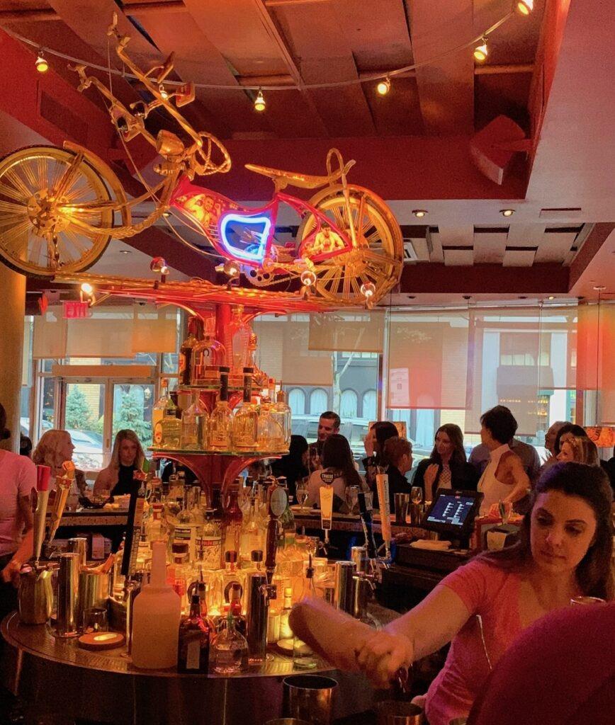 Cocktail scene in Philadelphia