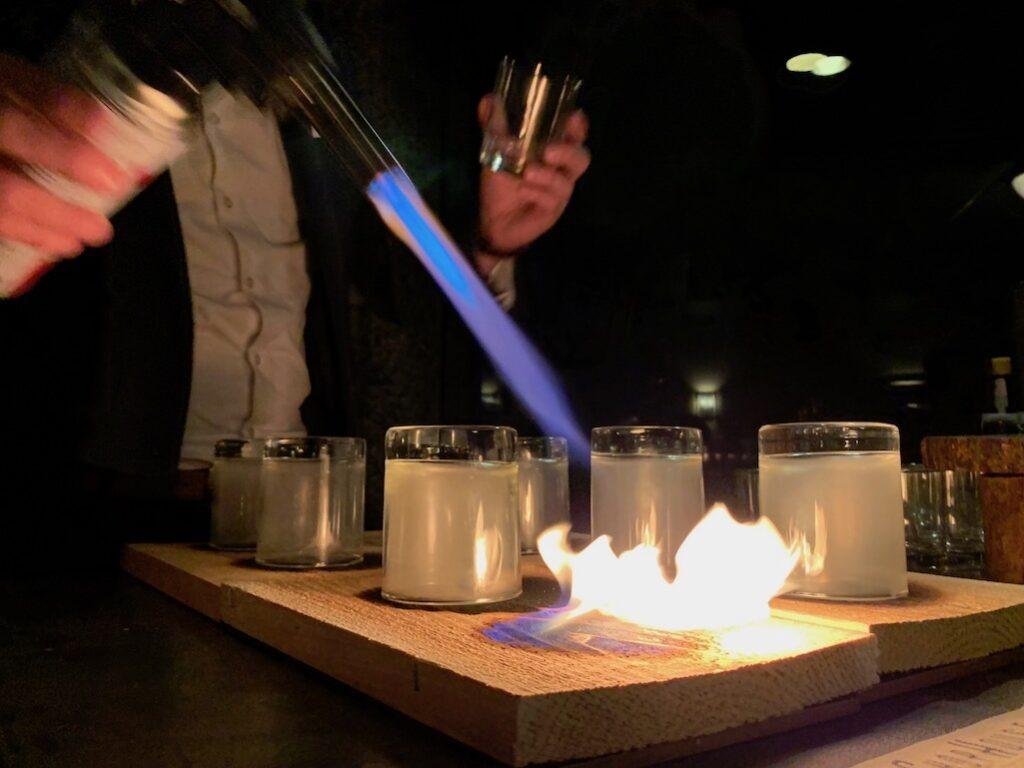 Creating Special Cocktails at Grand Geneva