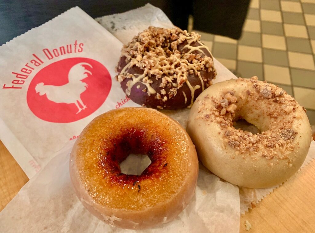 Philly Foods Federal Donuts Philadelphia Food Travelist
