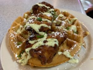 Philly Food Pearl's Chicken and Waffles