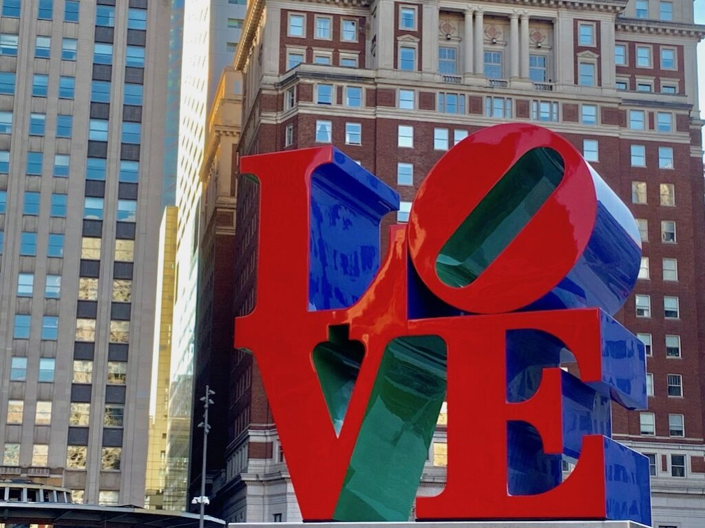 Philly Food Philadelphia Love Sign