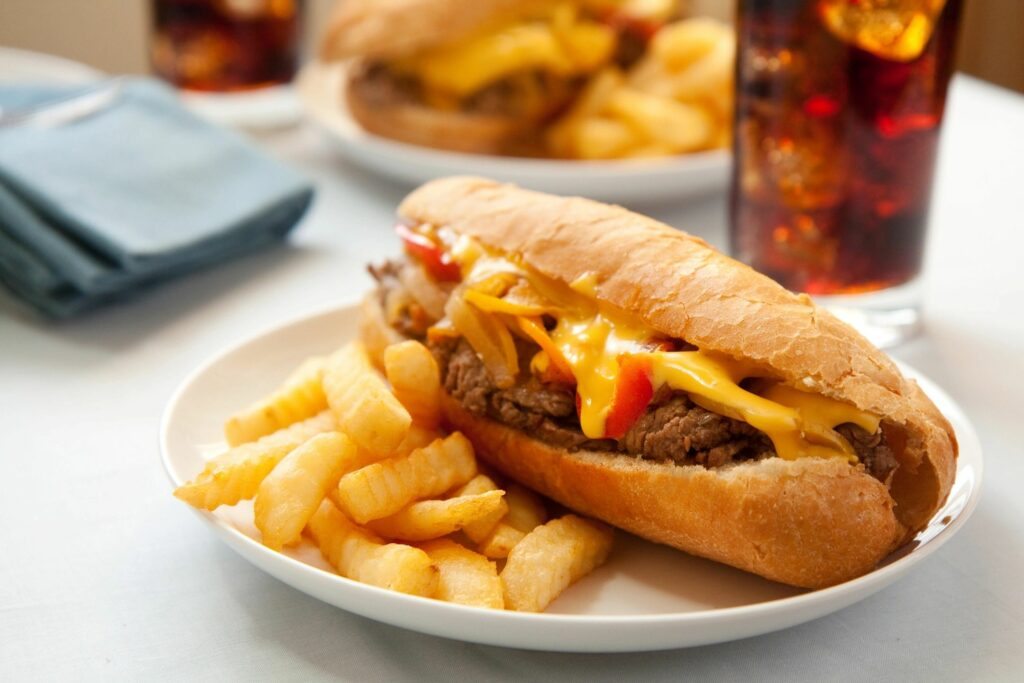 Philly Cheesesteak Philly Food