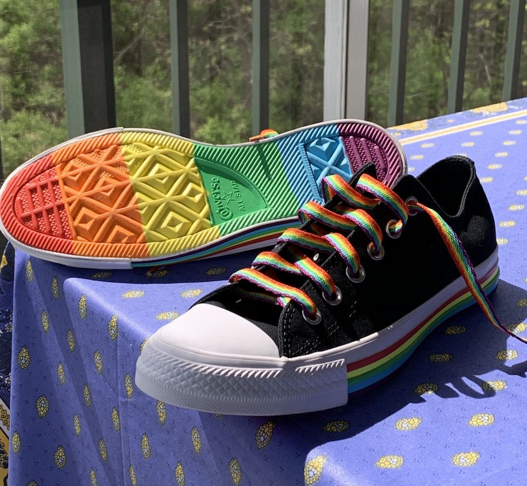 June Pride Month Converse All Star Pride Shoes