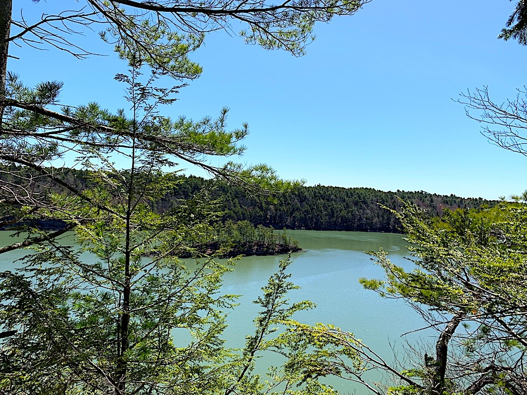 Cliff Trail Harpswell Maine