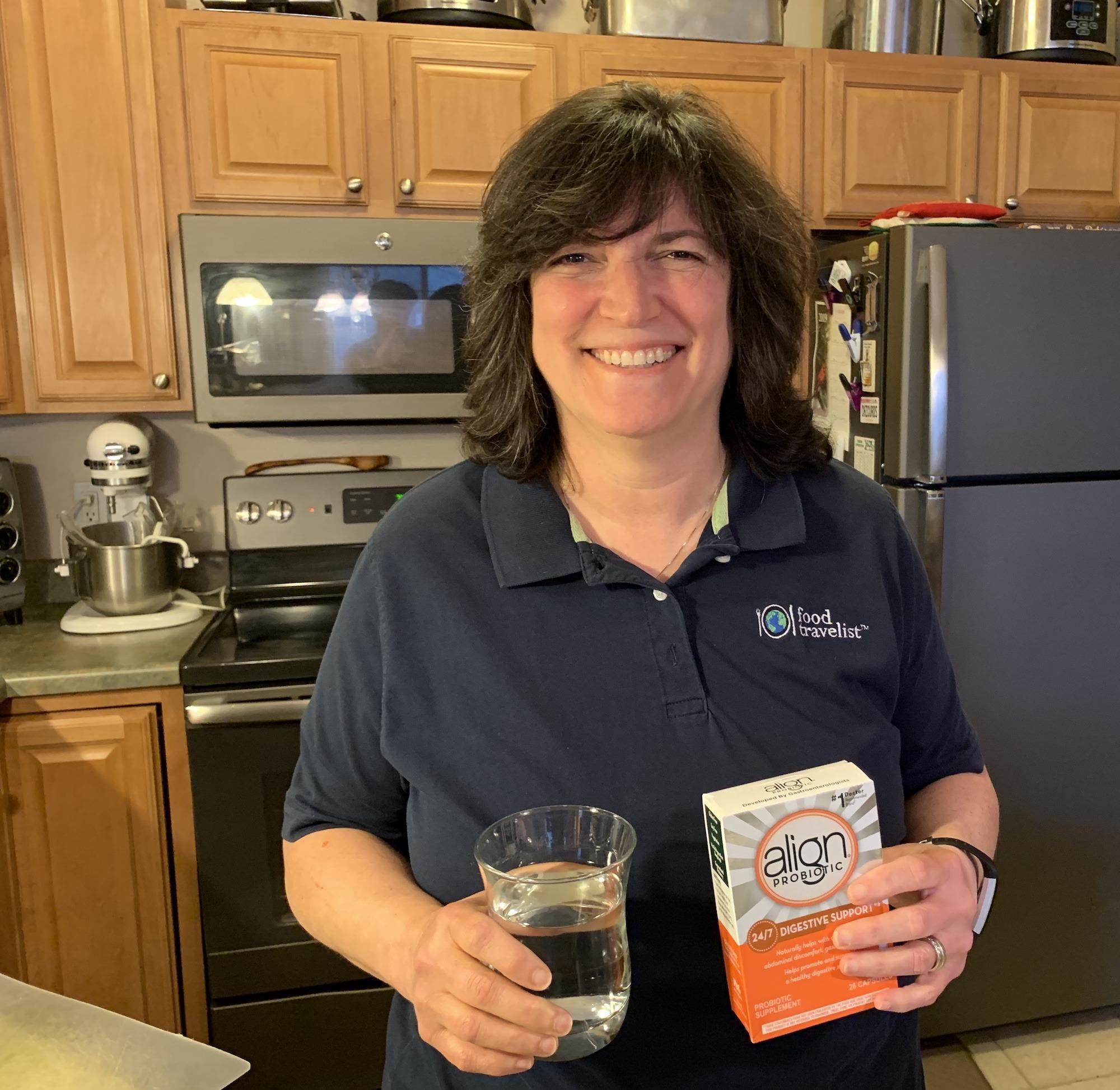 Diana Taking Align Probiotics