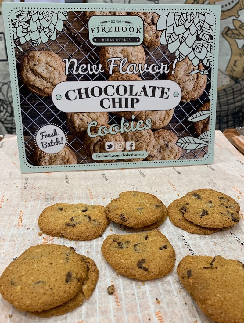 Firehook Chocolate Chip Cookies Sweets and Snacks Expo