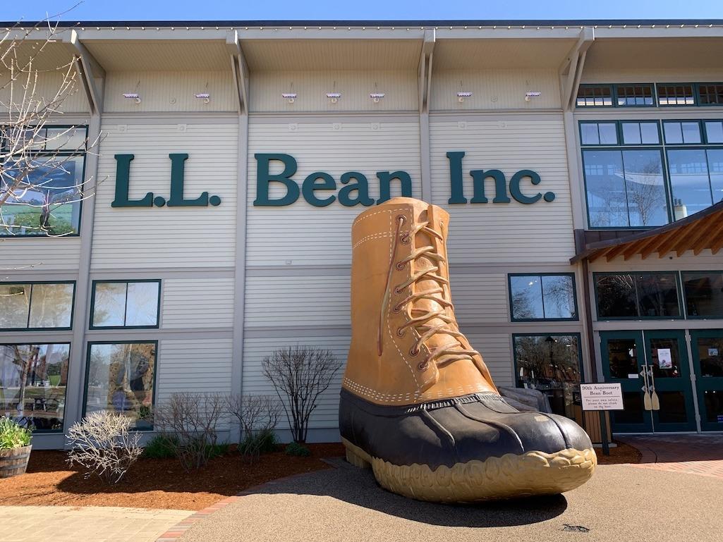 L.L. Bean Freeport Maine