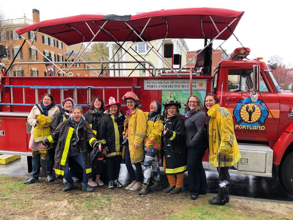 Portland Firetruck tour