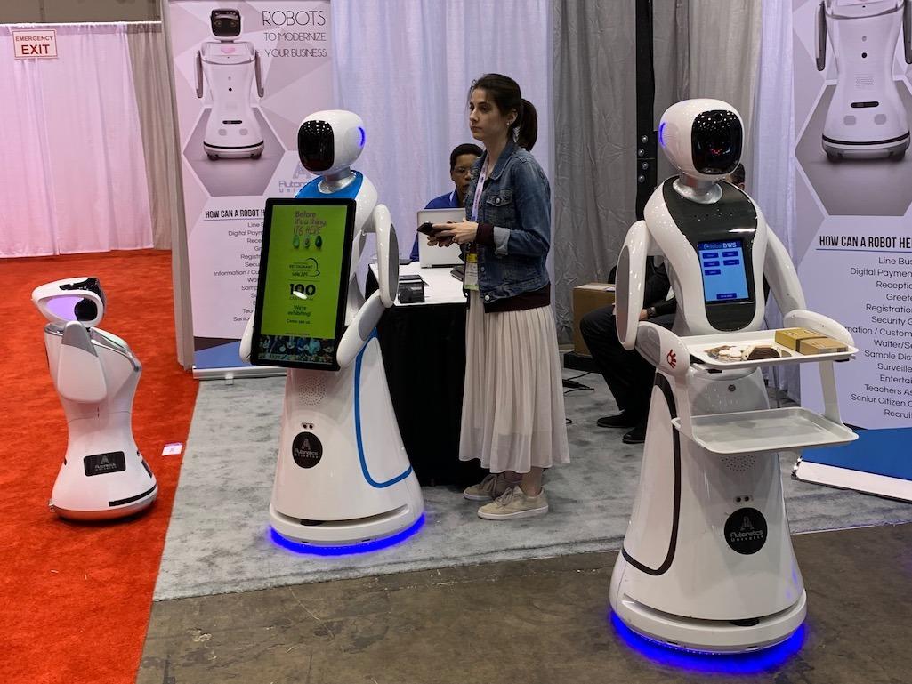 Robots at NR Show 2019