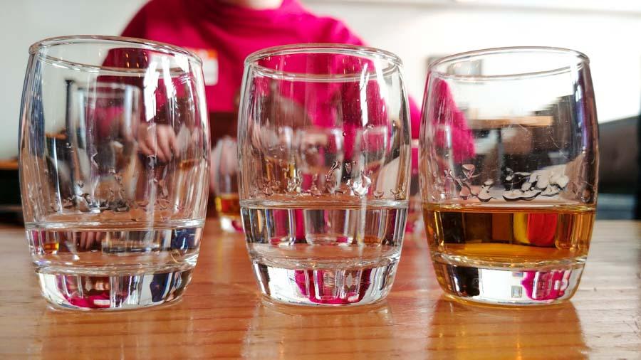 Stroudwater Distillery spirits