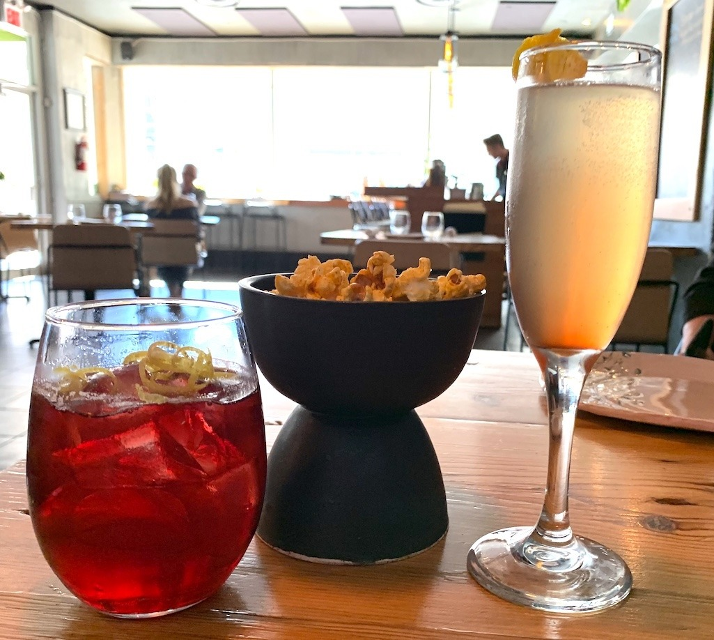 Cocktails at Deer + Almond Winnipeg