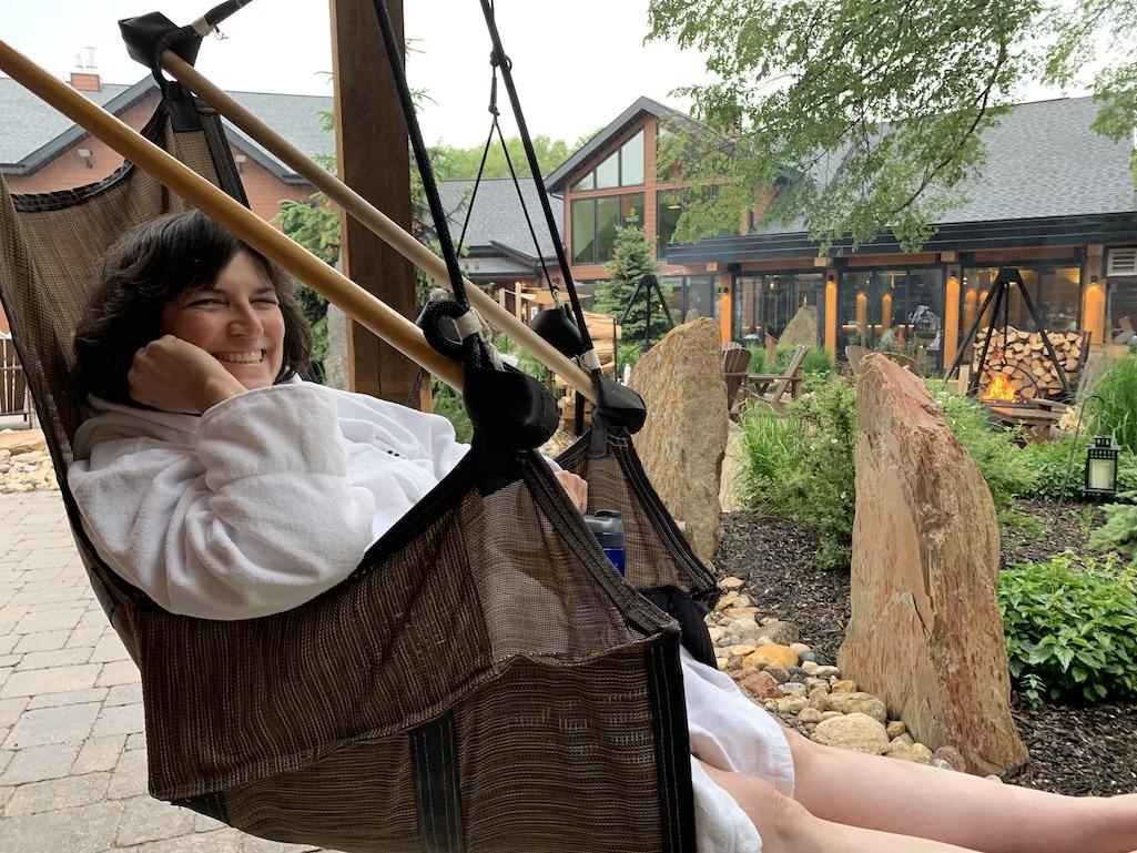 Thermea relaxing hammocks Winnipeg