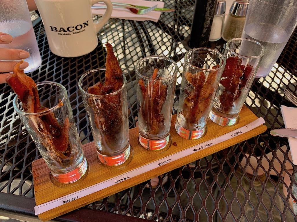 Bacon Flight at Bacon Boise Idaho