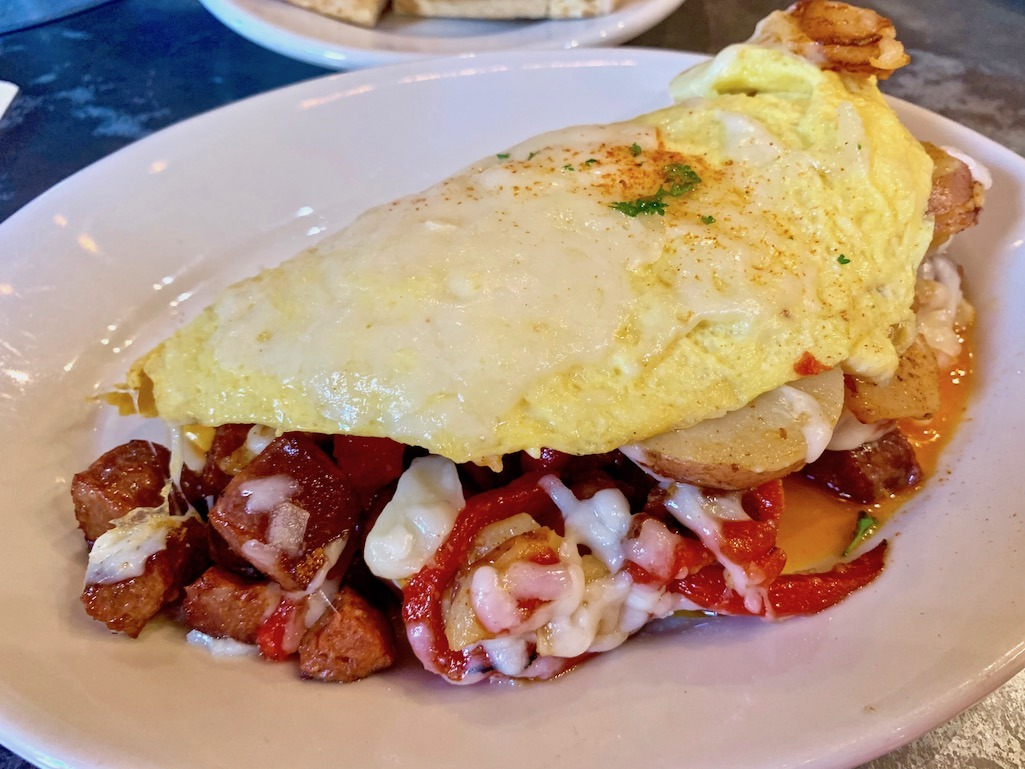 Basque Omelette Goldy's Boise Idaho